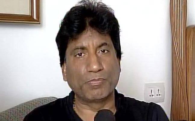 Comedian Raju Srivastava. Photo: ANI