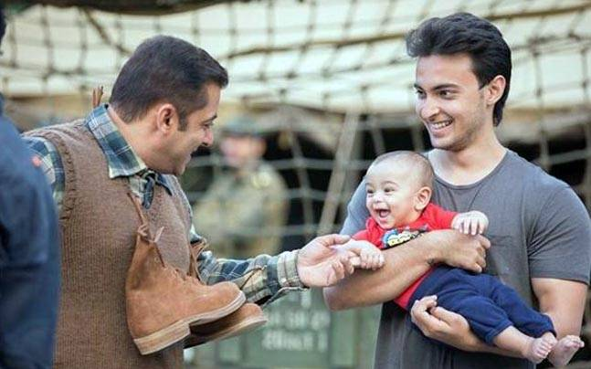 Image result for salman with ahil india.com