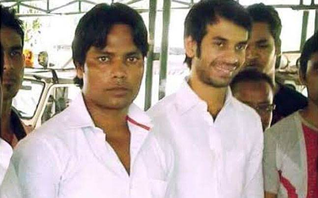 Tej Pratap with sharpshooter