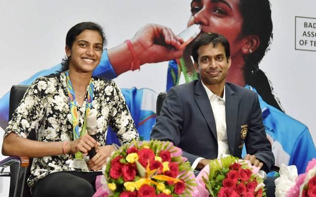 PV Sindhu and Pullela Gopichand