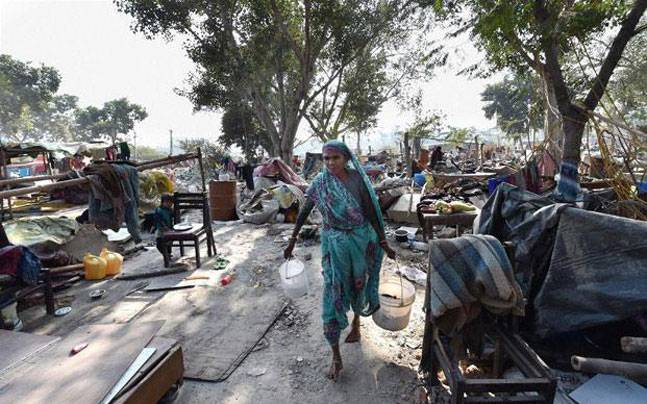 Slum Dwellers in Bhubaneswar