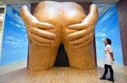 Butts, trains make up this year's nominees for prestigious Turner Prize