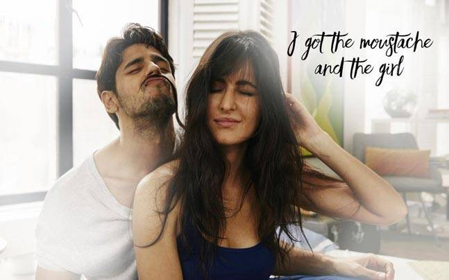 Sidharth Malhotra and Katrina Kaif in Baar Baar Dekho.