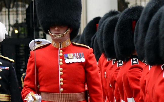 Major Coleby a senior member of the Queen's guard