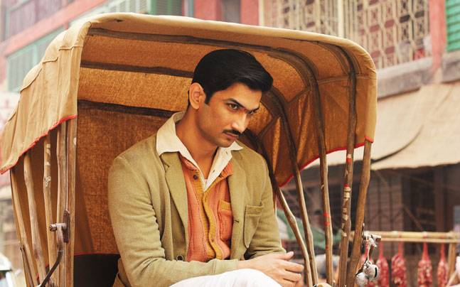 Sushant Singh Rajput as and in Detective Byomkesh Bakshy