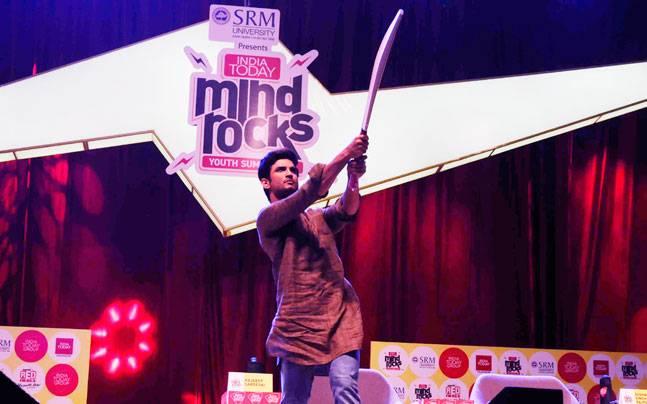 Sushant Singh Rajput at Mind Rocks 2016