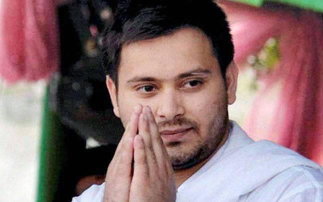 Bihar deputy CM Tejaswi Yadav