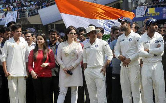 Sachin Tendulkar retired from Test cricket in 2013 after playing his 200th Test match.