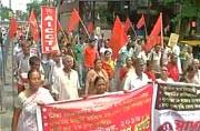 Bharat Bandh hits Bengal, Kerala, UP most; workers rallies at various places