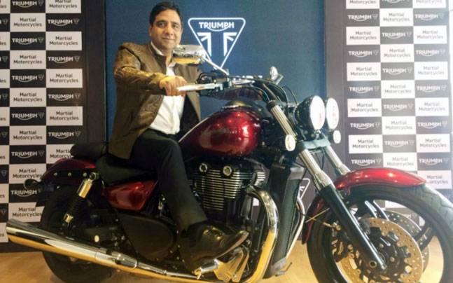 Triumph Motorcycles in Vijaywada