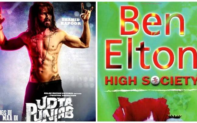 (L to R) A poster of Udta Punjab, cover of High Society