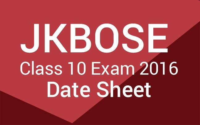 JKBOSE Class 10, annual exam dates announced: Check out more details here!