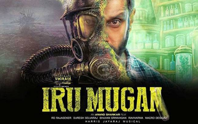 Vikram's Iru Mugan has minted Rs 10 crore