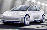 Volkswagen I.D. electric concept makes world debut at the Paris Motor Show