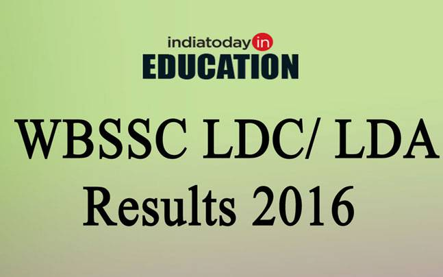 WBSSC LDC/ LDA results 2016 declared