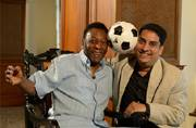 Pele turns 76: My memories of an evening with the legend