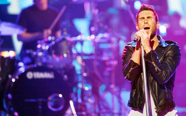Maroon 5's new track is titled Don't Wanna Know. Photo: Reuters