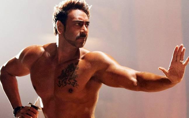Ajay Devgn in Action Jackson