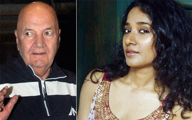 The actor feels Tannishtha's angry social media post was nothing but a publicity gimmick. Picture courtesy: Yogen Shah