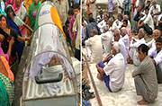 Dadri lynching accused dies in jail, villagers drape coffin in tricolour, refuse to cremate body