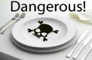 Food products that are very delicious and poisonous