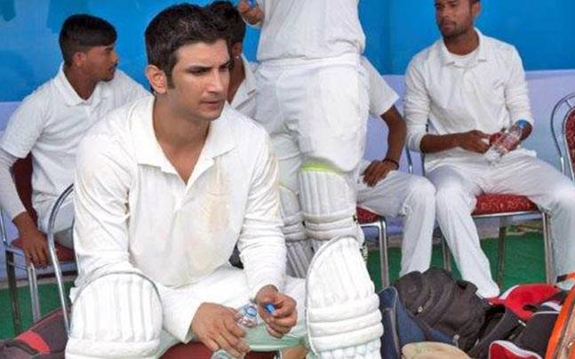 Sushant Singh Rajput in and as MS Dhoni