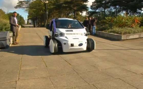 driverless cars tested in UK