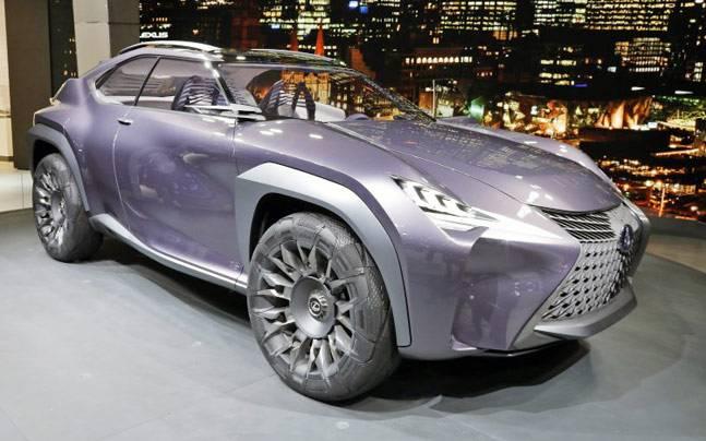 Lexus UX concept car