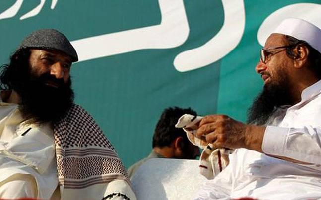 Syed Salahuddin and Hafiz Saeed