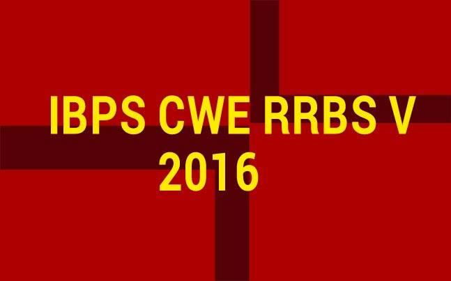 IBPS RRB V 2016