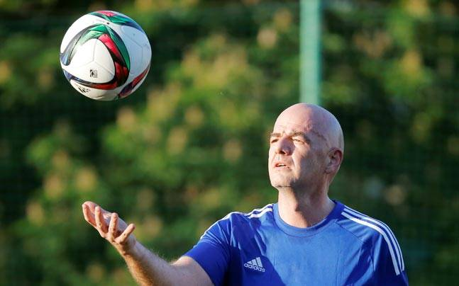 FIFA president Gianni Infantino. (Reuters Photo)