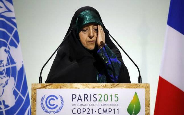 Iran vice president Masoumeh Ebtekar