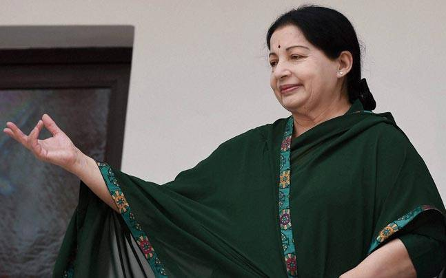 Tamil Nadu CM Jayalalithaa.