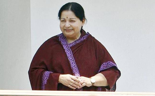 Tamil Nadu Chief Minister Jayalalithaa