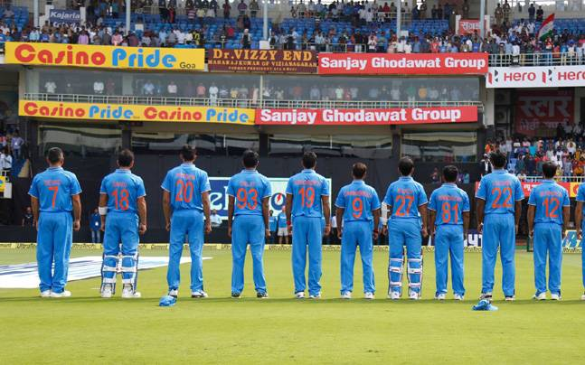 Photos Environment Friendly Jerseys For Team India: In A First, Indian Cricketers Sport Their Mothers' Names