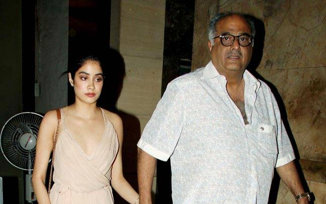 Jhanvi Kapoor at Mirzya screening