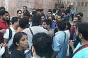 JNU student missing case: Student, teacher unions gherao college administrative staff