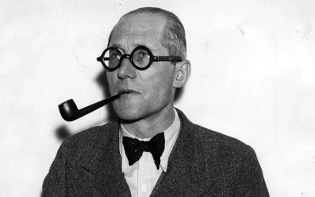 Le Corbusier's 129th birth anniversary.