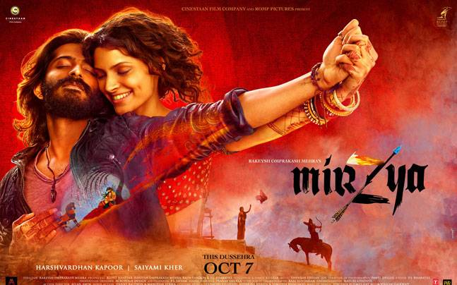 A poster of Mirzya