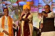 Modi's arrow against evil: Terror knows no border, world must unite against it