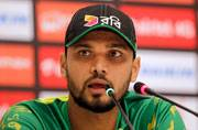 Mashrafe Mortaza 'worried' about ankle injury ahead of England series