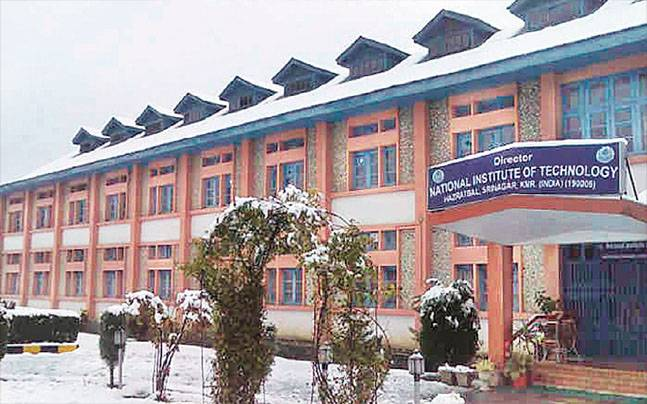 NIT in Srinagar has been badly affected due to unrest in Valley
