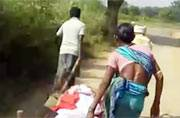 Odisha shocker: Shunned by community, family drags adivasi woman's body to crematorium