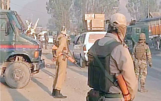 Encounter between security forces and terrorists is underway in Pampore.