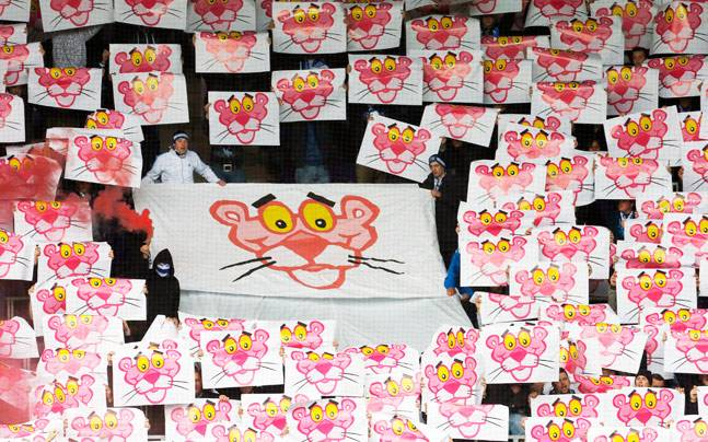 Pink Panther is a fictional character made famous by the eponymous movies. Photo: Reuters