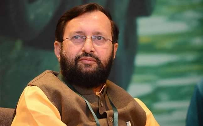 Union Minister for Human Resource Development, Prakash Javadekar