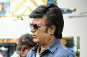 SEE PIC: Thalaivar Rajinikanth on the sets of Enthiran 2 looks uber cool