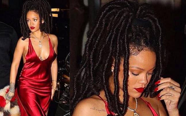 Rihanna's hair game is absolutely on-point. (Picture Courtesy: Instagram/badgirlriri)
