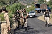 Baramulla houses searched for second time this week in hunt for terrorists