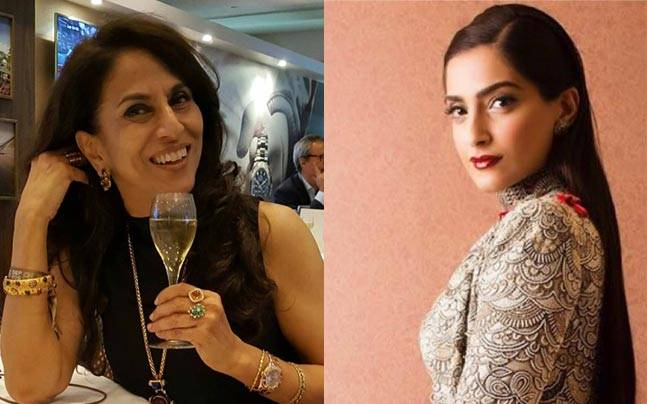 Shobhaa De and Sonam Kapoor. Pictures courtesy: Instagram/shobhaade; sonamkapoor
